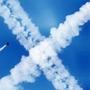 Следы от самолетов