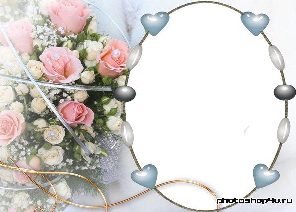 Белые и розовые розы