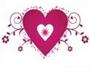 Замечательный набор кистей с сердцами