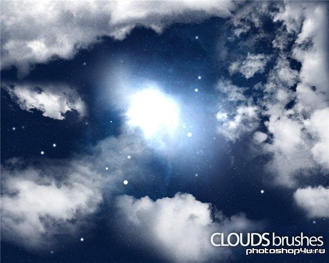 Кисти - красивое небо