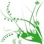 Векторный лиственный орнамент