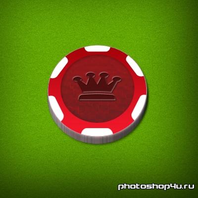 3D фишка для покера
