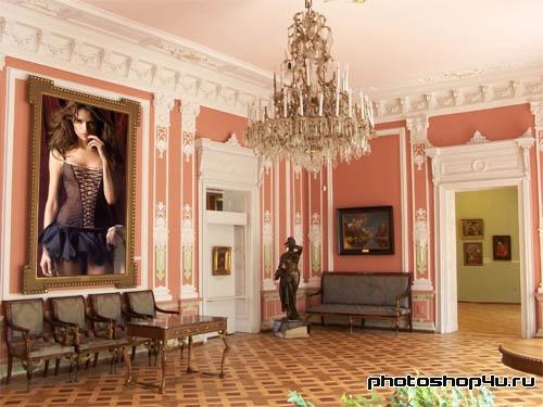 Рамки для фотошоп - ваша картина в галерее