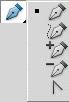 Инструменты для построения и редактирования контуров