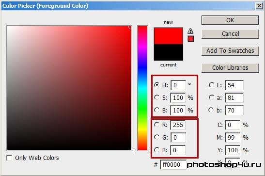 Цветовая модель HSB